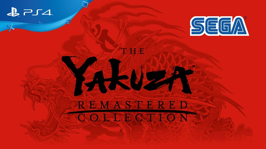 yakuza remastered collection sega yakuza 3 yakuza 4 yakuza 5 ps4