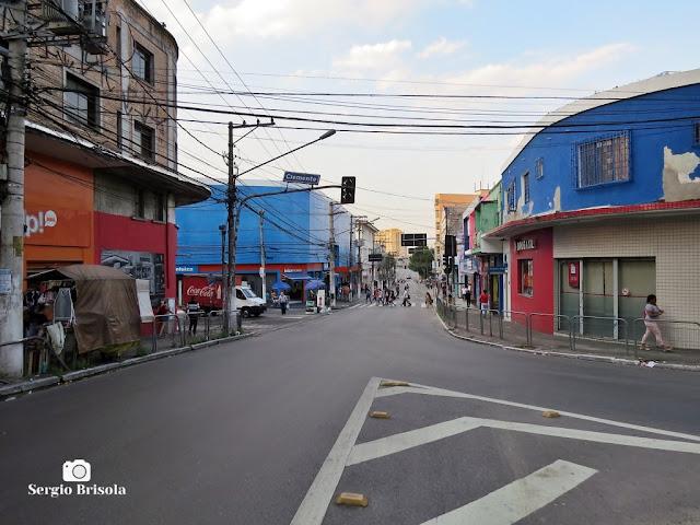 Vista de trecho da Rua Nossa Senhora da Lapa - Lapa - São Paulo