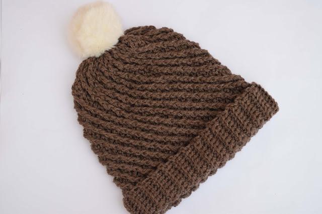 6-Crochet Imagenes Gorro con puntada en relieve a crochet y ganchillo por Majovel Crochet
