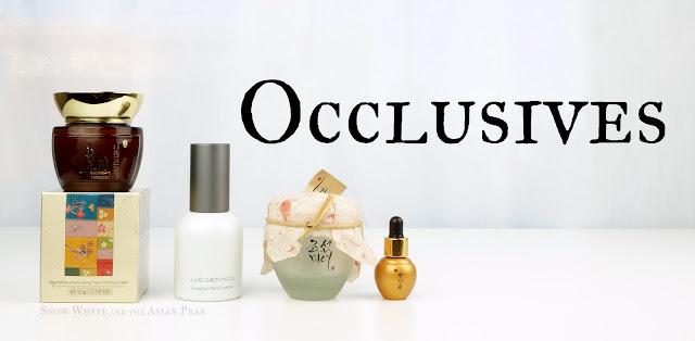 Korean creams, essences, and facial oils