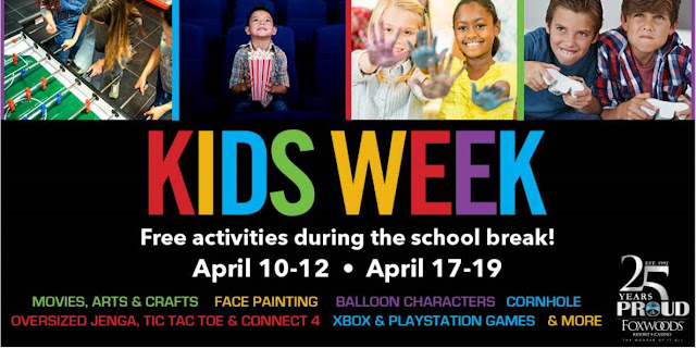 Foxwoods Kids Week