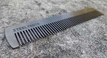 metal steeltooth comb