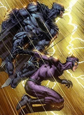 Catwoman y Batman
