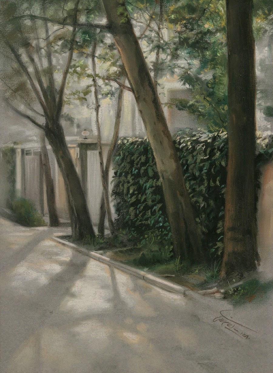 Alley - Iman Maleki e suas pinturas realistas ~ Pintor iraniano