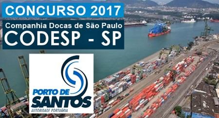 Apostila Concurso CODESP 2017