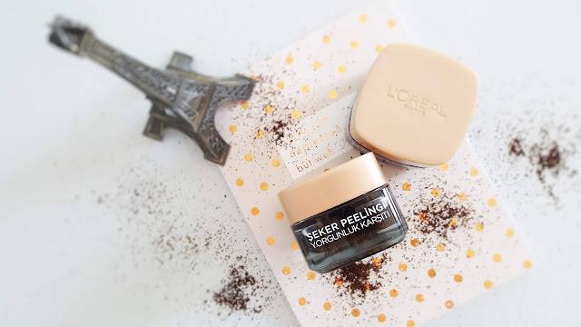 L'oreal Paris Yorgunluk Karşıtı Kahveli Şeker Peelingi