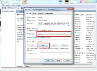 menghilangkan configuring update windows 10