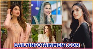 Famous Pakistani Celebrities Dresses from Ramadan Transmissions 2021