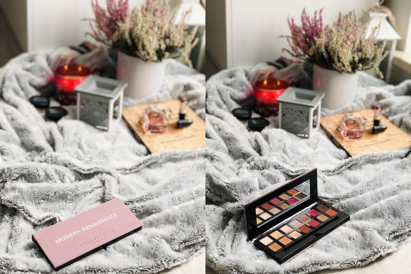 paleta cieni do powiek Anastasia Beverly Hills | Modern Renaissance | makijaż | moje spostrzeżenia