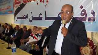 فى مؤتمر جماهيرى حاشد لحزب شباب مصر شعب البحيرة ينتفض ضد الإرهاب ويعلن رفضه دعوات النزول للشارع