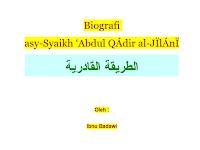 Ebook Biografi Abdul Qadir Zaelani