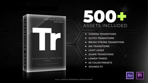 FREE VIDEOHIVE TRANSITIONS PACK - INSTAVFX