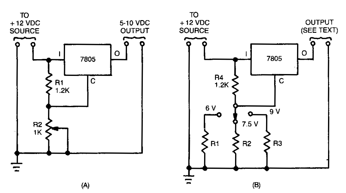7805 Voltage Regulator Circuit | Circuitstune