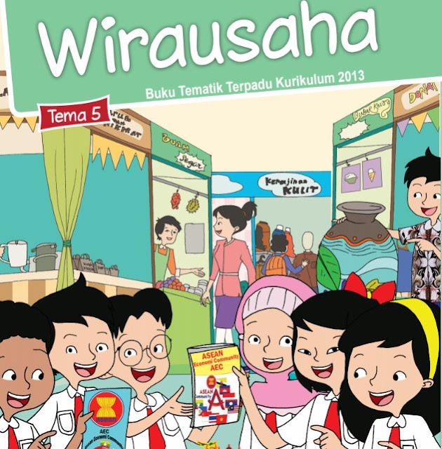 Buku Siswa Kelas 6 SD/MI Tema 5: Wirausaha