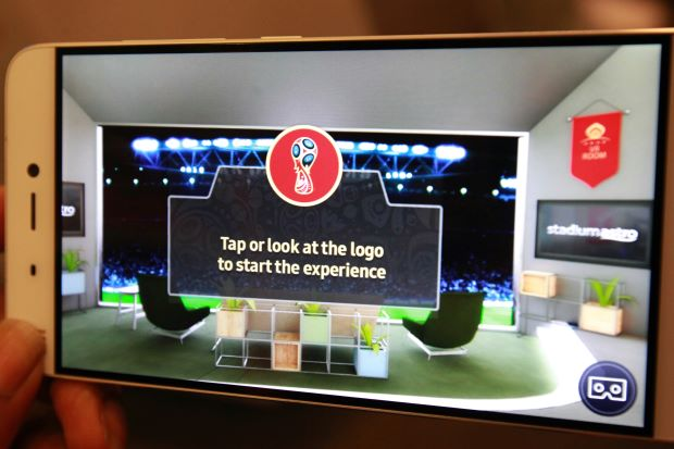 Watch the World Cup in virtual reality