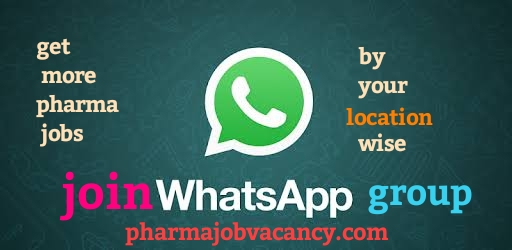 Pharma jobs-carers/vacancy in india : Join our Pharmajob WhatsApp