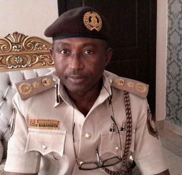 I don't want your blood money – Immigration boss tells senior officers