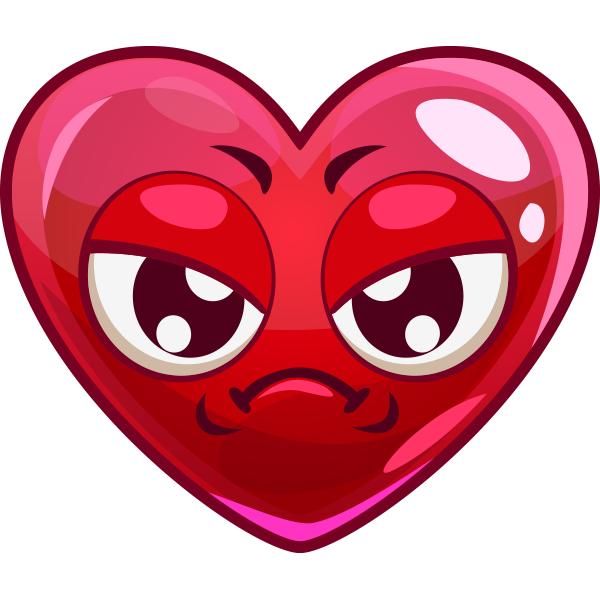 Annoyed Heart Image
