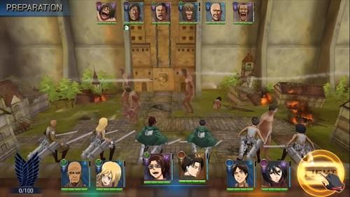 Hệ máy điện thoại không bao giờ là lý tưởng cho dòng Game hóa trang cùng Attack On Titan: Assault cũng không tránh khỏi thử thách này