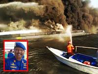 AKP Tombong Korban Kapal Polairud Polda Sulsel Yang Terbakar Dimakamkan di Pangkep