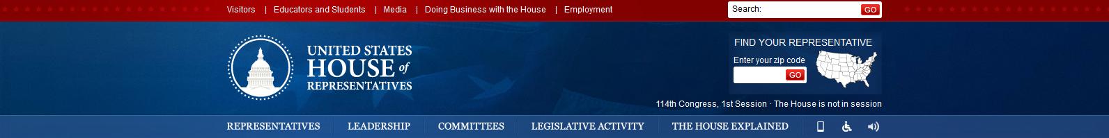 http://www.house.gov/