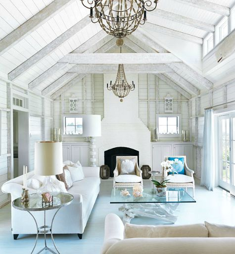 Shiplap Wall Paneling to Create Beach Cottage Style