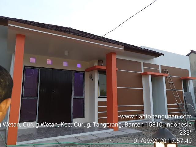 Hasil Renovasi Rumah di Desa Curug Wetan