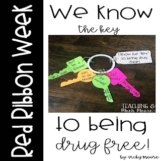 Red Ribbon Week craft