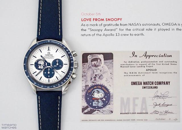 "Omega Speedmaster ""Silver Snoopy Award"" 50th Anniversary ref.310.32.42.50.02.001"
