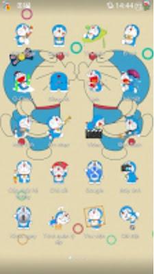 Kumpulan Tema Oppo Terbaik - Doraemon