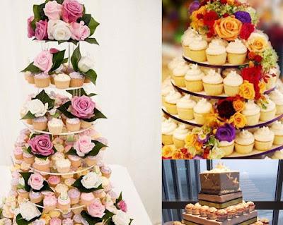 top-4-de-bolos-de-casamento-torre-de-cupcakes
