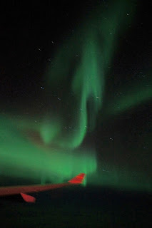 Northern Lights - Doesn't that look like a devil tail?