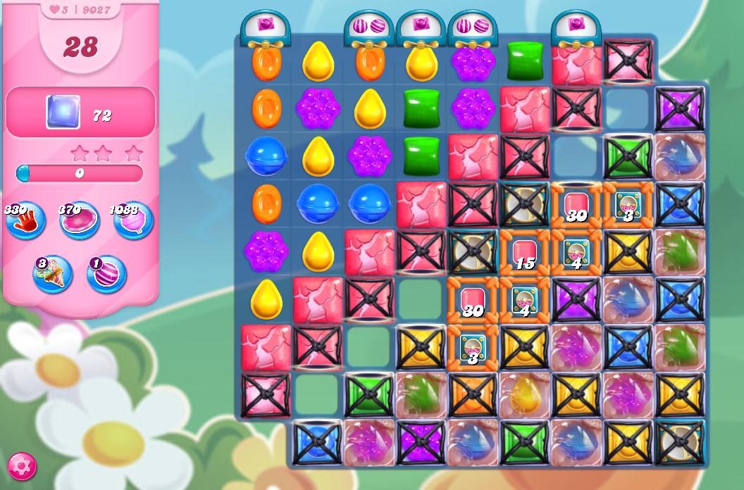 Candy Crush Saga level 9027
