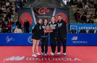 TENIS DE MESA - La Copa de la Reina sigue en manos del UCAM Cartagena