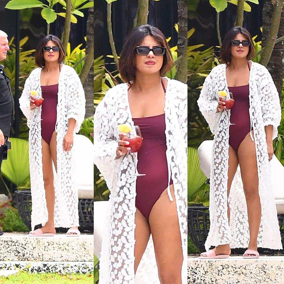 Priyanka Chopra in Swimsuit edit