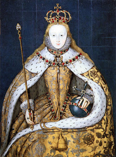 Elizabeth I in Coronation robe