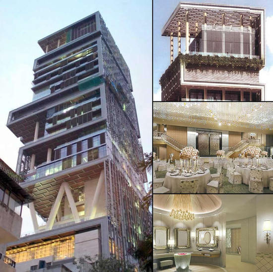 The Luxuriest Moment Antilia Is The World S Most