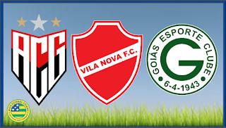 Fim de semana de alegria para as torcidas de Atlético e Vila Nova, choro para torcida do Goiás