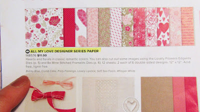 Stampin'UP!'s All My Love Designer Paper