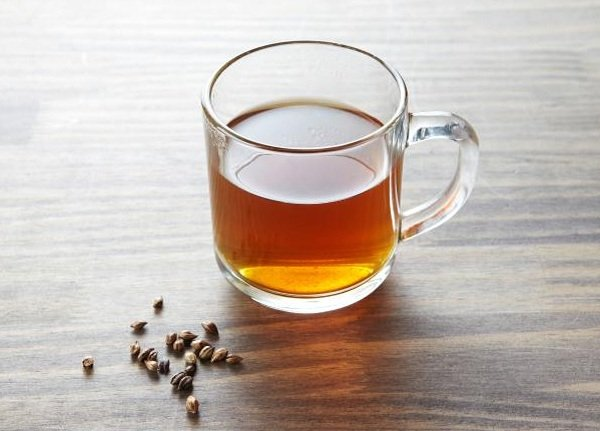 What are the benefits of roasted barley tea?