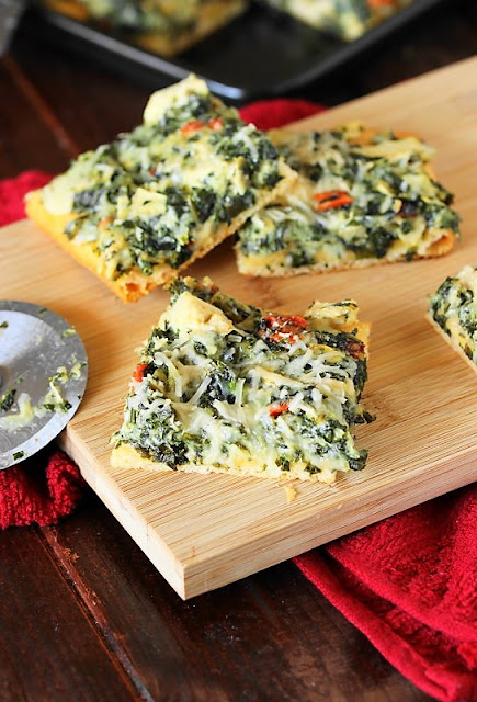 Spinach and Artichoke Dip Party Squares photo