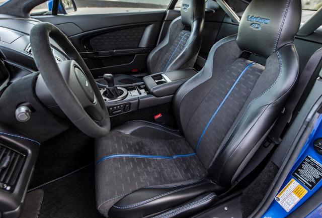 Aston Martin 2017 Vantage GTS Interior