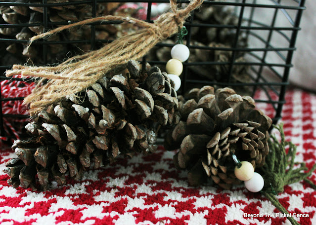 Make Tassels to Hang on Pinecones for Boho decor