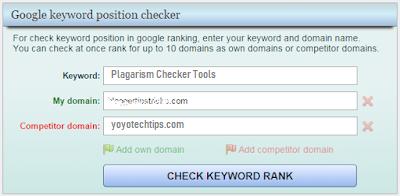 Moonsy's Google Position checker