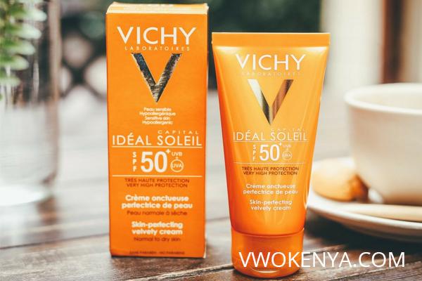Thương hiệu kem chống nắng Vichy dành cho da dầu