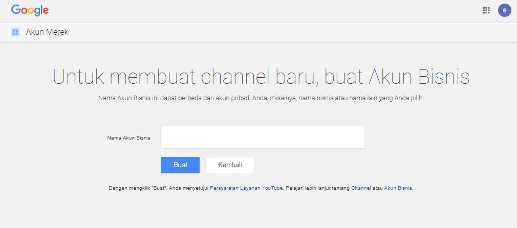 Cara Lengkap Membuat Channel Youtube