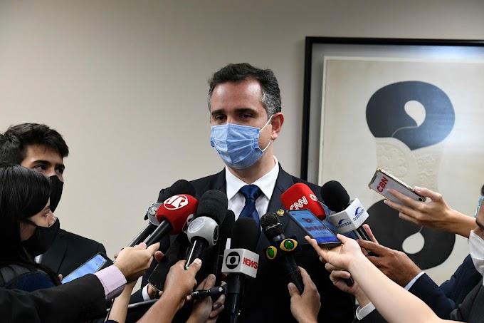 POLÍTICA: Candidato de Bolsonaro, Rodrigo Pacheco é eleito presidente do Senado