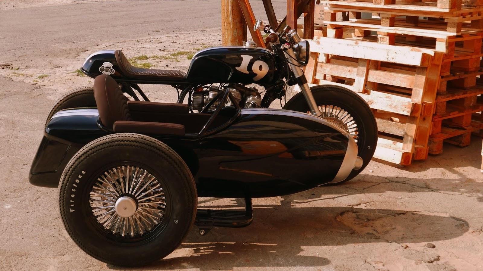 CB 900 Sidecar - RocketGarage - Cafe Racer Magazine