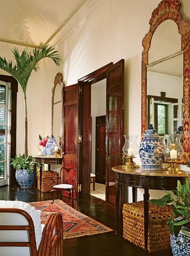 Restaurant Kitchen Mats Booth Ideas Eye For Design: Tropical British Colonial Interiors