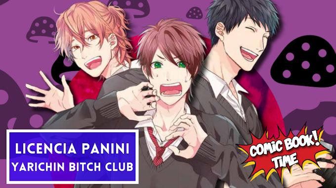 "Licencia manga: Panini Manga licencia ""Yarichin Bitch Club"", de Tanaka Ogeretsu"